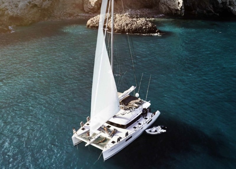 More crewed luxury catamarans in the Balearic Islands