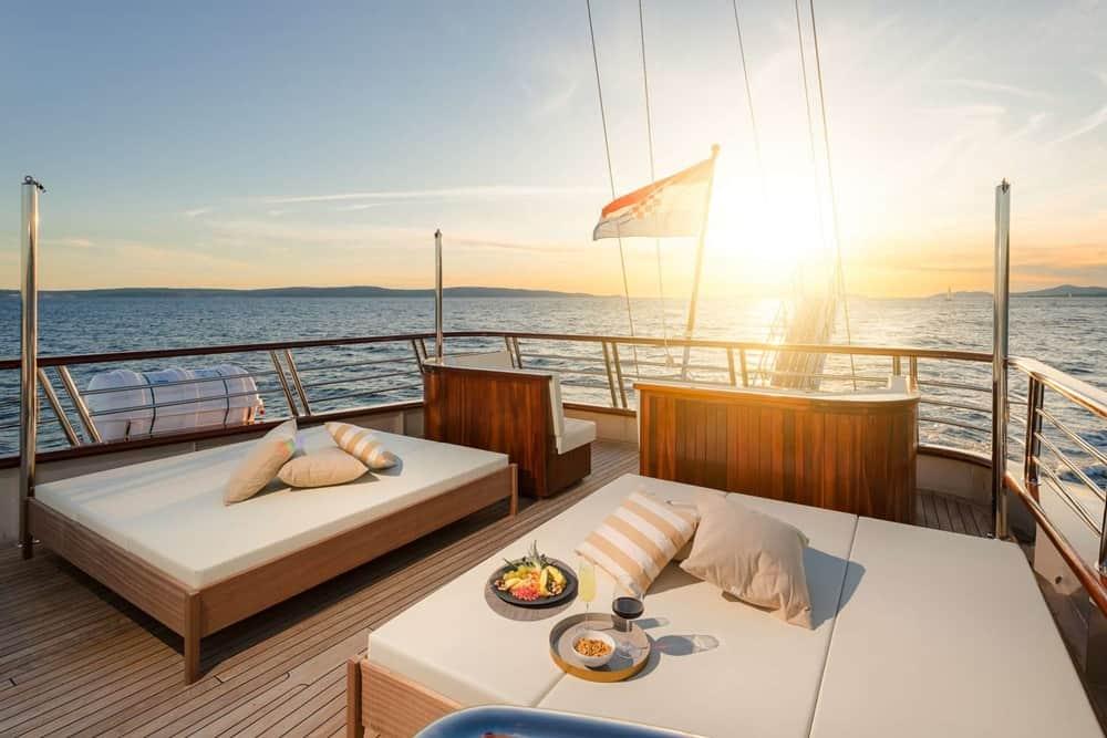 New luxury motorsailers for charter in Croatia