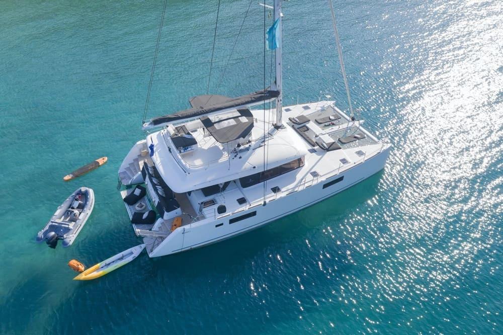 Luxury Crewed Catamaran Charters in Greece